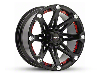 Ballistic Jester Flat Black 6-Lug Wheel - 18x9 (04-18 All)