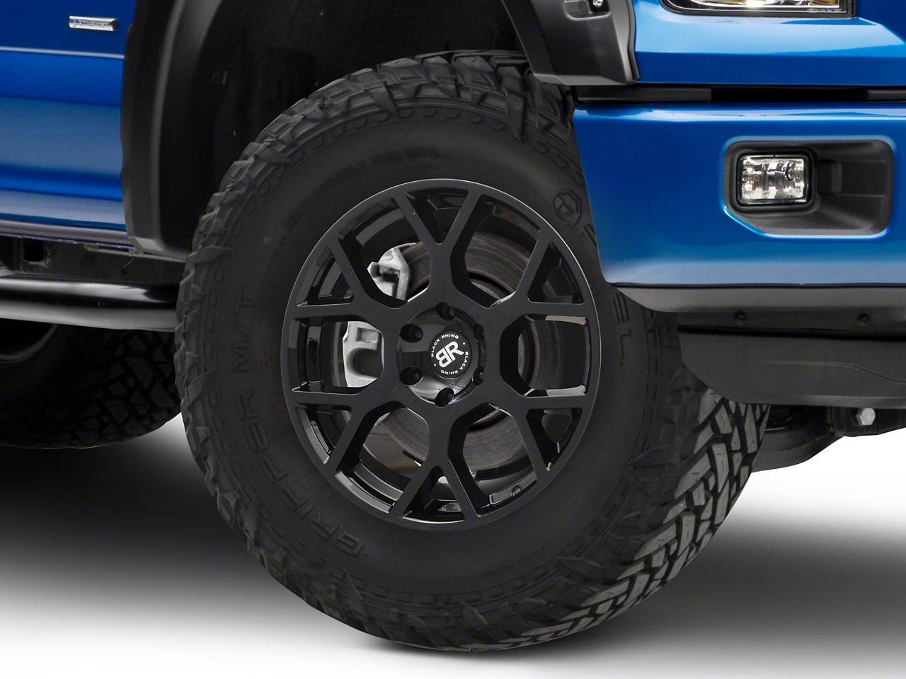 Black Rhino Tembe Gloss Black 6-Lug Wheel - 20x9 (04-18 F-150)