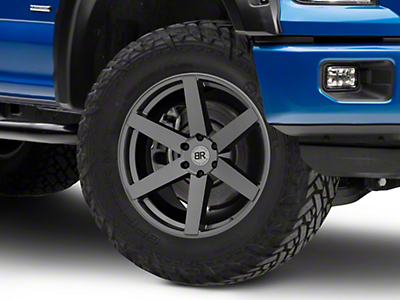 Black Rhino Karoo Gloss Gunmetal 6-Lug Wheel - 22x10 (04-18 F-150)