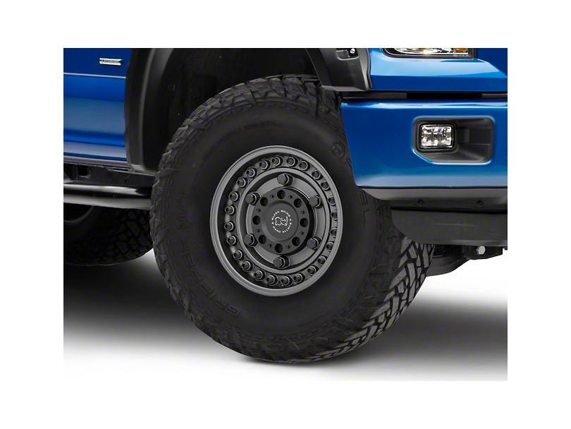 Black Rhino Armory Gunblack 6-Lug Wheel - 17x9.5 +06mm Offset (04-19 F-150)