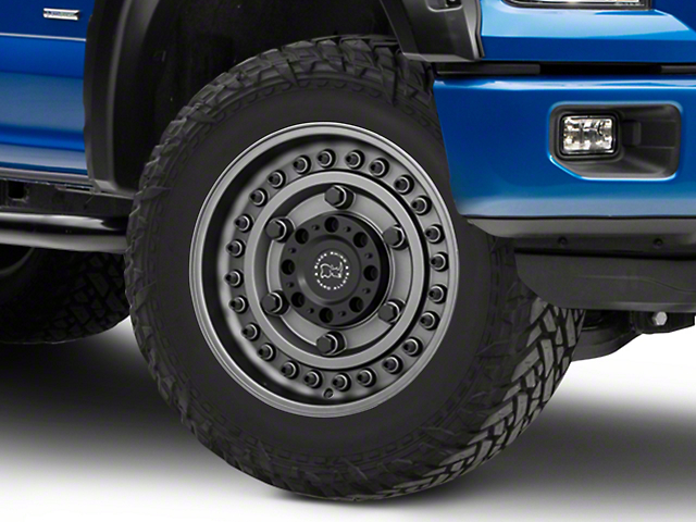 Black Rhino Armory Gunblack 6-Lug Wheel - 20x9.5 +06mm Offset (15-19 F-150)