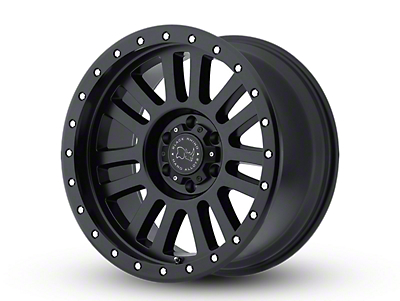 Black Rhino El Cajon Matte Black 6-Lug Wheel - 17x9 (04-18 F-150)