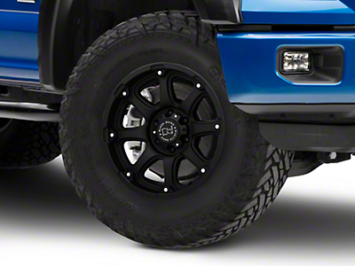 Black Rhino Glamis Matte Black 6-Lug Wheel - 18x9 (04-19 F-150)