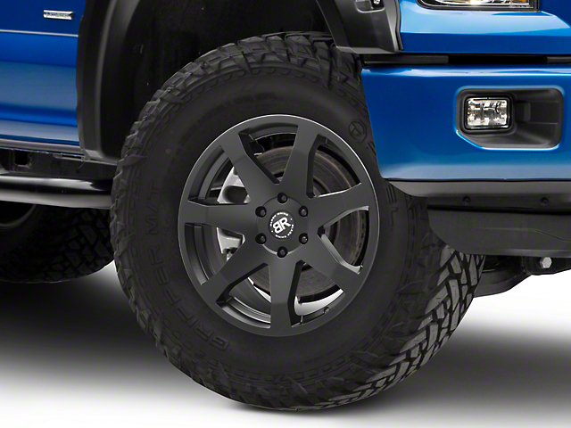 Black Rhino Mozambique Matte Black 6-Lug Wheel - 20x8.5; 30mm Offset (15-19 F-150)
