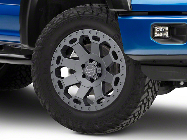 Black Rhino Warlord Matte Gunmetal 6-Lug Wheel - 20x9 (04-19 F-150)