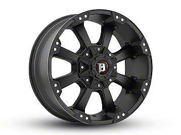 Ballistic Morax Flat Black 6-Lug Wheel - 20x10 (04-18 F-150)