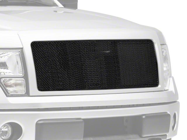 Modern Billet Wire Mesh Upper Grille Insert - Black (09-14 F-150, Excluding Raptor)