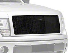 RedRock 4x4 Wire Mesh Upper Grille Insert; Black (09-14 F-150, Excluding Raptor)