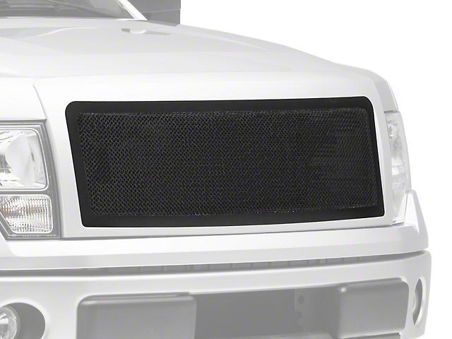 Modern Billet Wire Mesh Upper Grille w/ Frame - Black (09-14 F-150, Excluding Raptor)