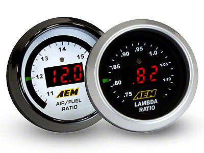 AEM Electronics Digital Wideband UEGO Air Fuel Ratio Gauge (97-18 All)