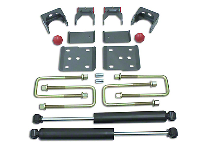 Max Trac Rear Flip Lowering Kit w/ Max Trac Shocks - 4 in. (09-14 2WD/4WD F-150, Excluding Raptor)