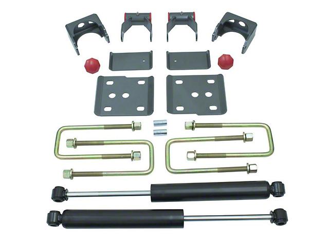 Max Trac Rear Flip Lowering Kit w/ Max Trac Shocks - 5 in. (11-14 3.5L EcoBoost, 5.0L F-150)