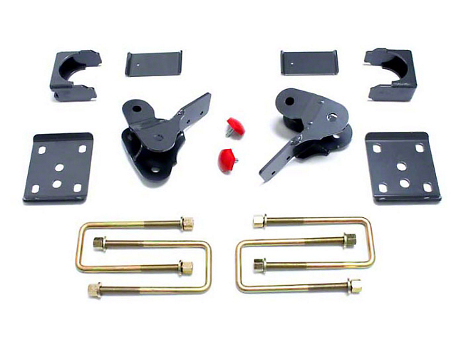 Max Trac Rear Flip Lowering Kit - 4 in. (15-19 2WD F-150)