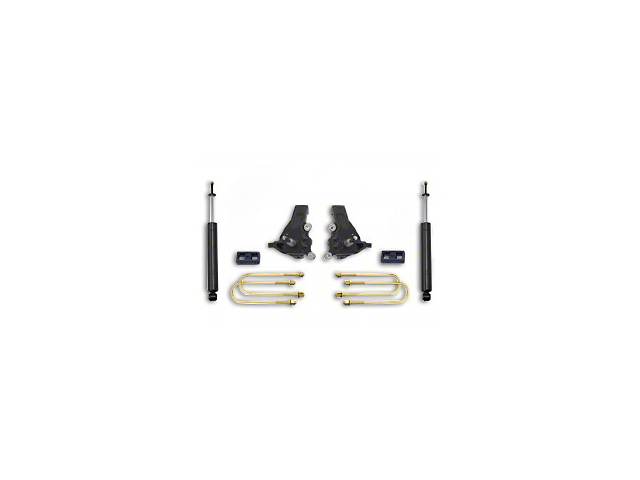 Max Trac 3.5 in. Front / 2 in. Rear Lift Kit w/ Max Trac Shocks (97-03 2WD F-150)