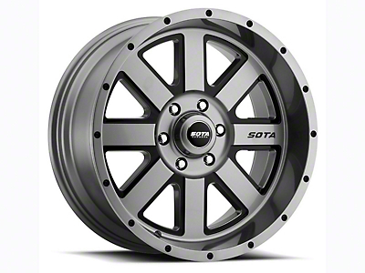 SOTA Off Road A.W.O.L. Anthra-Kote Black 6-Lug Wheel - 20x10 (04-18 F-150)