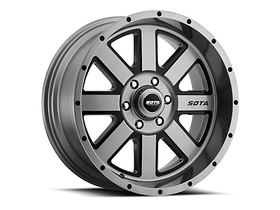 SOTA Off Road A.W.O.L. Anthra-Kote Black 6-Lug Wheel - 22x10.5 (04-18 F-150)