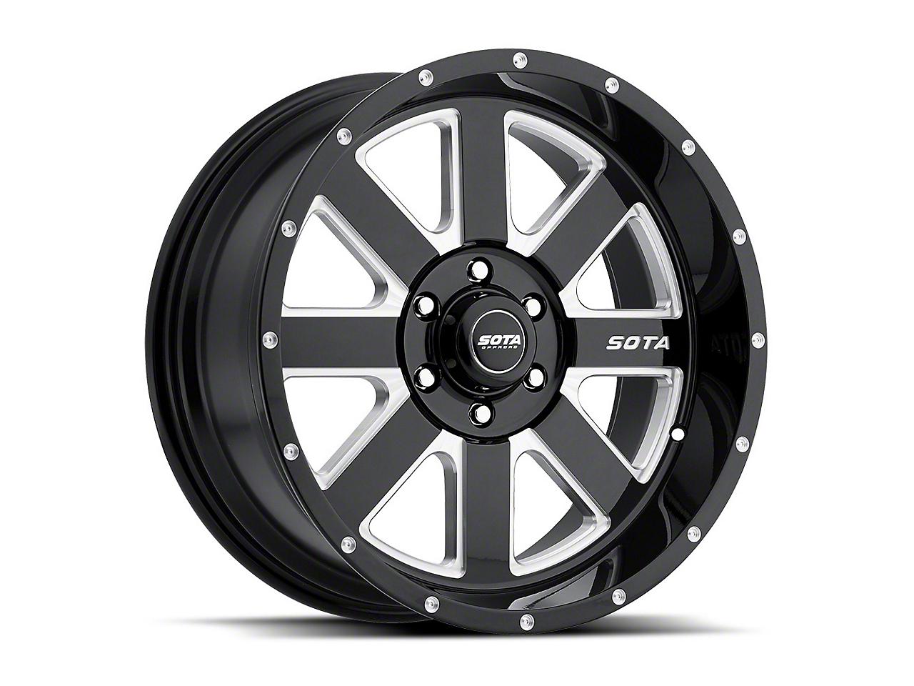 SOTA Off Road A.W.O.L. Death Metal 6-Lug Wheel - 22x10.5 (04-18 F-150)