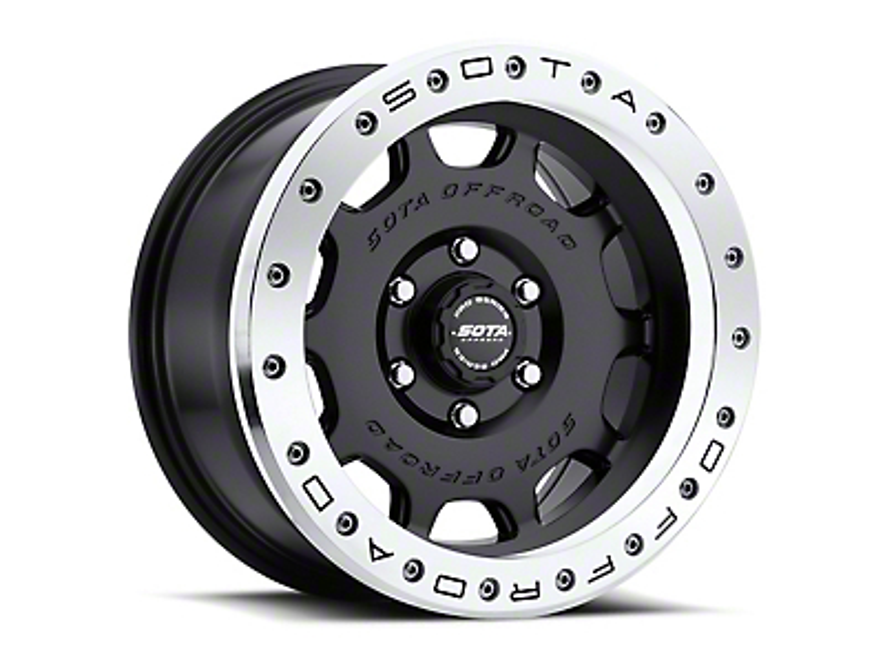 SOTA Off Road D.R.T. Stealth Black 6-Lug Wheel - 20x10 (04-19 F-150)