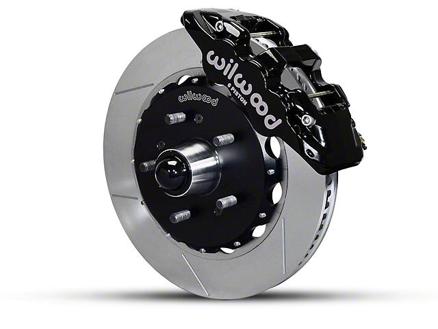 Wilwood AERO6 Front Big Brake Kit w/ Slotted Rotors - Black (97-03 2WD F-150)