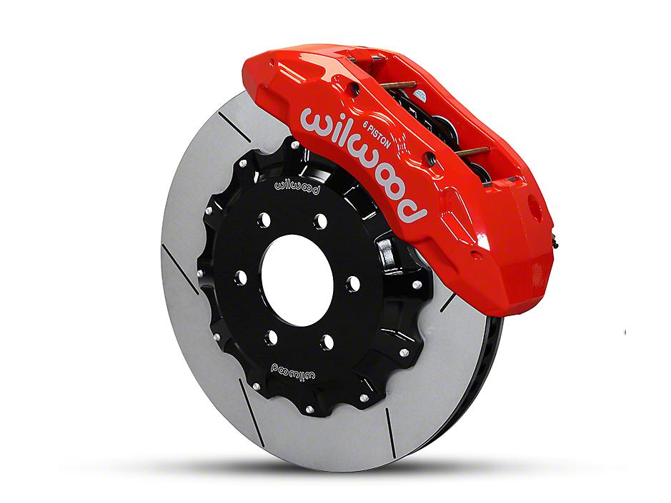 Wilwood TX6R 6-Lug Front Brake Kit - Red (04-08 4WD F-150)