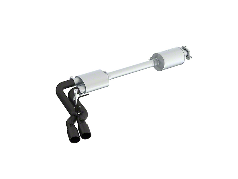MBRP Black Series 3 in. Dual Exhaust System - Middle Side Exit (15-20 5.0L F-150)