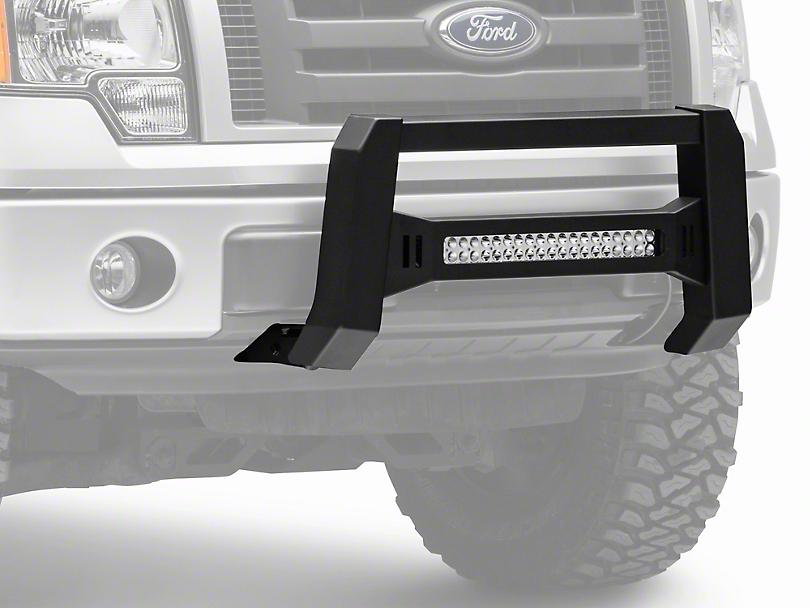 Barricade XHD Bull Bar w/ Dual Row LED Light Bar - Black (04-19 F-150, Excluding Raptor)