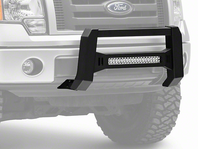 Barricade f 150 xhd bull bar w dual row led light bar black barricade xhd bull bar w dual row led light bar black 04 18 f 150 excluding raptor aloadofball Image collections