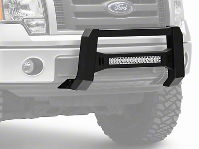 Barricade XHD Bull Bar w/ Dual Row LED Light Bar - Black (04-18 F-150, Excluding Raptor)