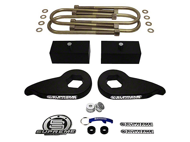 Supreme Suspensions 1-3 in. Front / 1 in. Rear Pro Lift Kit (97-03 4WD F-150)