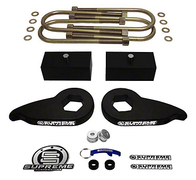 Supreme Suspensions 1-3 in. Front / 2 in. Rear Pro Lift Kit (97-03 4WD F-150)