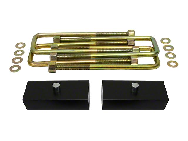 Supreme Suspensions 1-Inch Pro Billet Rear Lift Blocks (97-03 F-150)