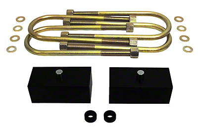 Supreme Suspensions 1.5 in. Pro Billet Rear Lift Blocks (97-03 F-150)