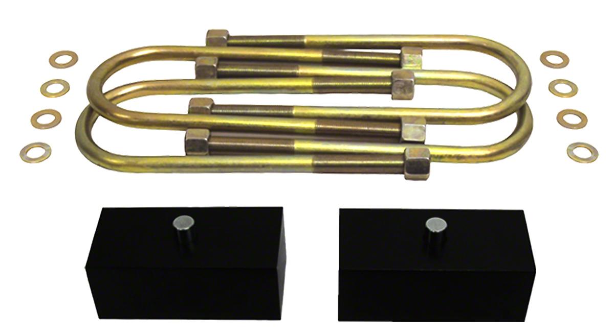 Supreme Suspensions 2 in. Pro Billet Rear Lift Blocks (97-03 F-150)