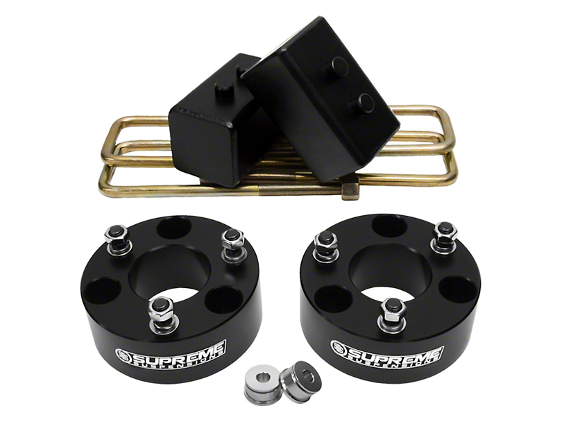 Supreme Suspensions 3.50-Inch Front / 2-Inch Rear Pro Billet Lift Kit (04-08 2WD/4WD F-150, Excluding FX4)