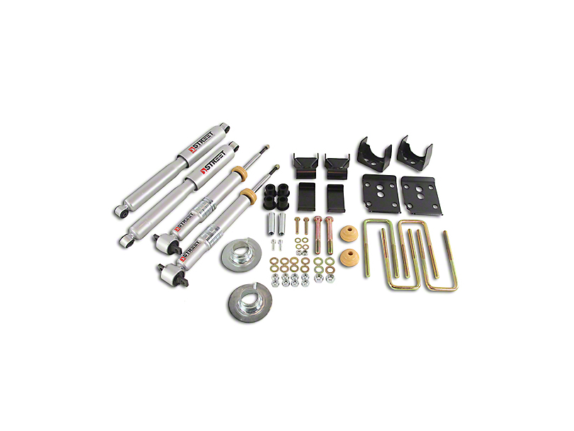 Belltech Stage 3 Lowering Kit w/ Street Performance Shocks - +1-3 in. Front / 5.5 in. Rear (15-19 2WD F-150 SuperCab, SuperCrew)