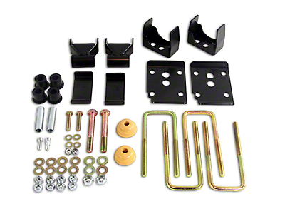 Belltech Rear Flip Lowering Kit - 5.5 in. (15-18 2WD F-150 SuperCab, SuperCrew)