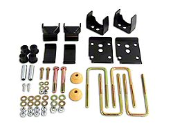 Belltech Rear Flip Lowering Kit - 5.5 in. (15-20 2WD F-150 SuperCab, SuperCrew)