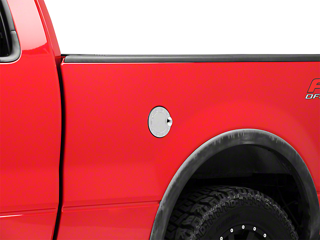 Black Horse Off Road Fuel Door Cover - Chrome (04-08 F-150)