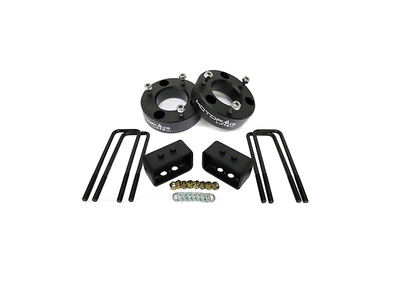 MotoFab 3 in. Front / 2 in. Rear Leveling Kit (04-14 2WD/4WD F-150, Excluding Raptor)