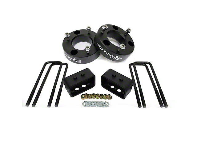 MotoFab 2.5 in. Front / 1.5 in. Rear Leveling Kit (09-19 4WD F-150, Excluding Raptor)