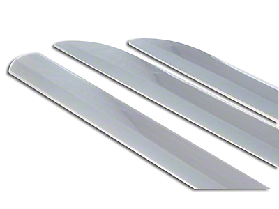Black Horse Off Road Side Moldings - Chrome (09-18 F-150 SuperCrew)
