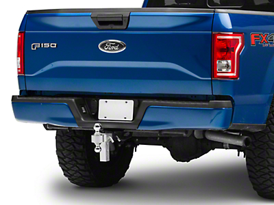 Smittybilt 2 in. Receiver Hitch Adjustable Ball Mount w/ 2 in. & 2-5/16 in. Balls - 6 in. Drop Hitch (97-18 F-150)