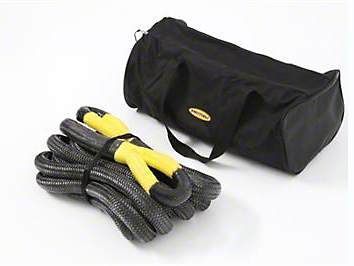 Smittybilt 1-1/2 in. x 30 in. Kinetic Recoil Recovery Rope - 60,000 lb.