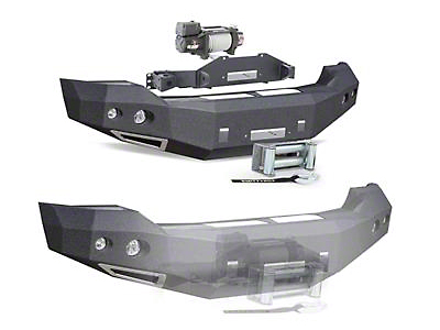 Smittybilt M1 Front Winch Mount Bumper (15-17 F-150, Excluding Raptor)