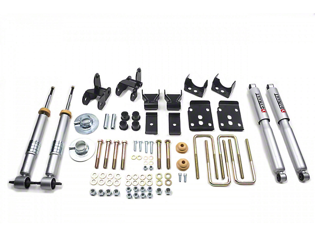 Belltech Lowering Kit w/ Street Performance Shocks - +1-3 in. Front / 2 in. Rear (15-19 F-150 w/ Short Bed)