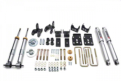 Belltech Lowering Kit w/ Street Performance Shocks - +1-3 in. Front / 4 in. (15-18 2WD F-150 w/ Short Bed)