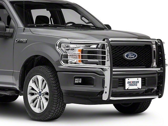 Barricade Brush Guard; Stainless Steel (15-20 F-150, Excluding Raptor)