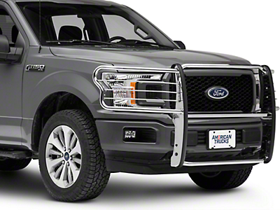 Barricade Brush Guard - Stainless Steel (15-19 F-150, Excluding Raptor)