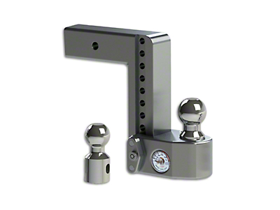Weigh Safe 2.5 in. Receiver Hitch Adjustable Ball Mount w/ Built-In Scale - 8 in. Drop Hitch (97-18 F-150)