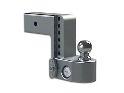 Weigh Safe 3 in. Receiver Hitch Adjustable Ball Mount w/ Built-In Scale - 6 in. Drop Hitch (97-18 F-150)